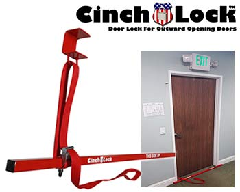 CinchLock CL Under Door Temporary Door Lock